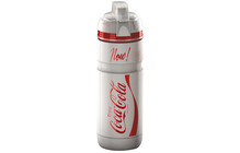 Elite Corsa Coca Cola Kunststof Bidon 750 ml rood/wit